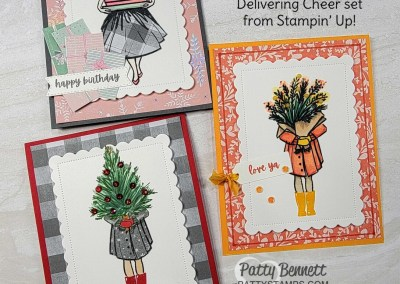 Cards for 3 Occasions with 1 Stamp Set