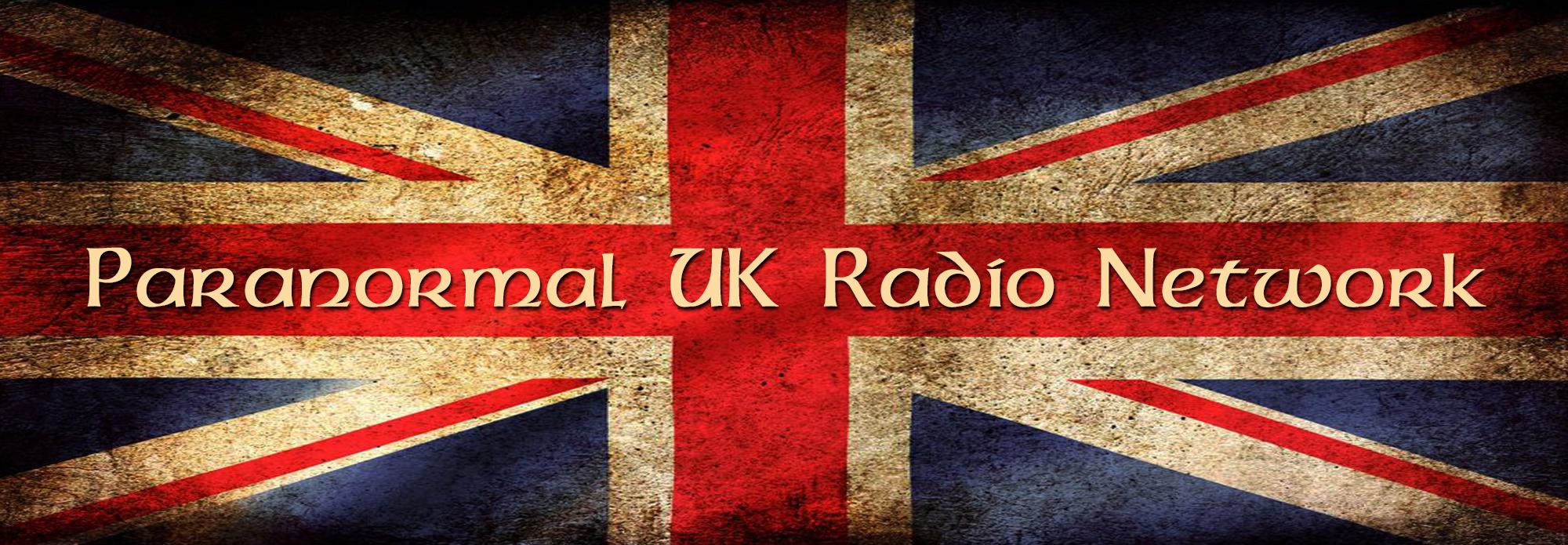 Paranormal UK Radio Network Logo