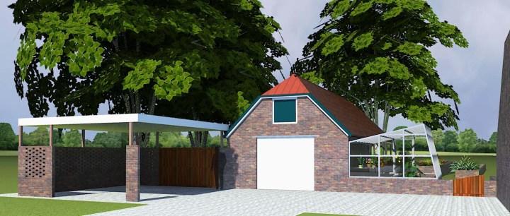 Oudeweg Westerbroek verbouw garage architect enschede hengelo oldenzaal borne haaksbergen almelo