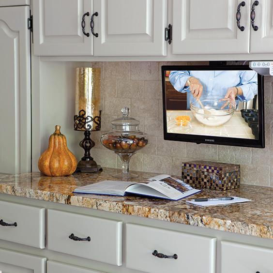 Superb Kitchen Tv Under Cabinet Mount Part   12: Under Kitchen Cabinet Tv  Mount