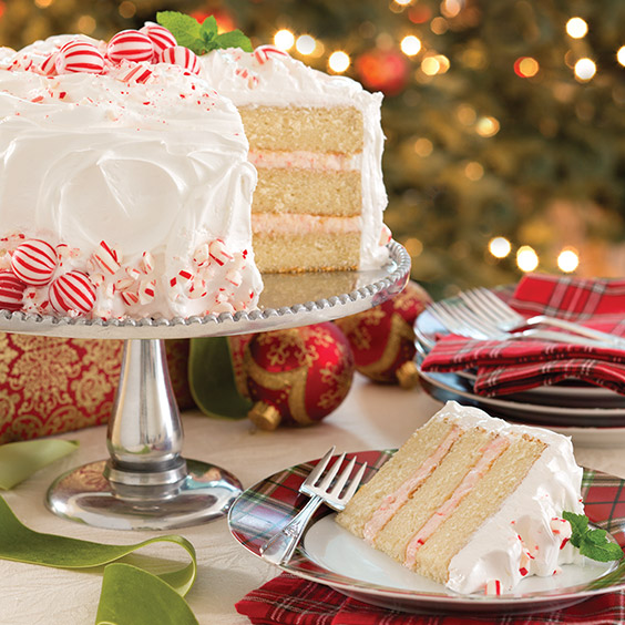 Candy Cane Cake Paula Deen Magazine