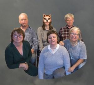 Das Wetterensemble mit Ellen und Detlef Heiler, Melanie Noske, Dr. Arne Harder, Christina Harder-Henf und Paula Grimm. Und Wolken gibt's auch!