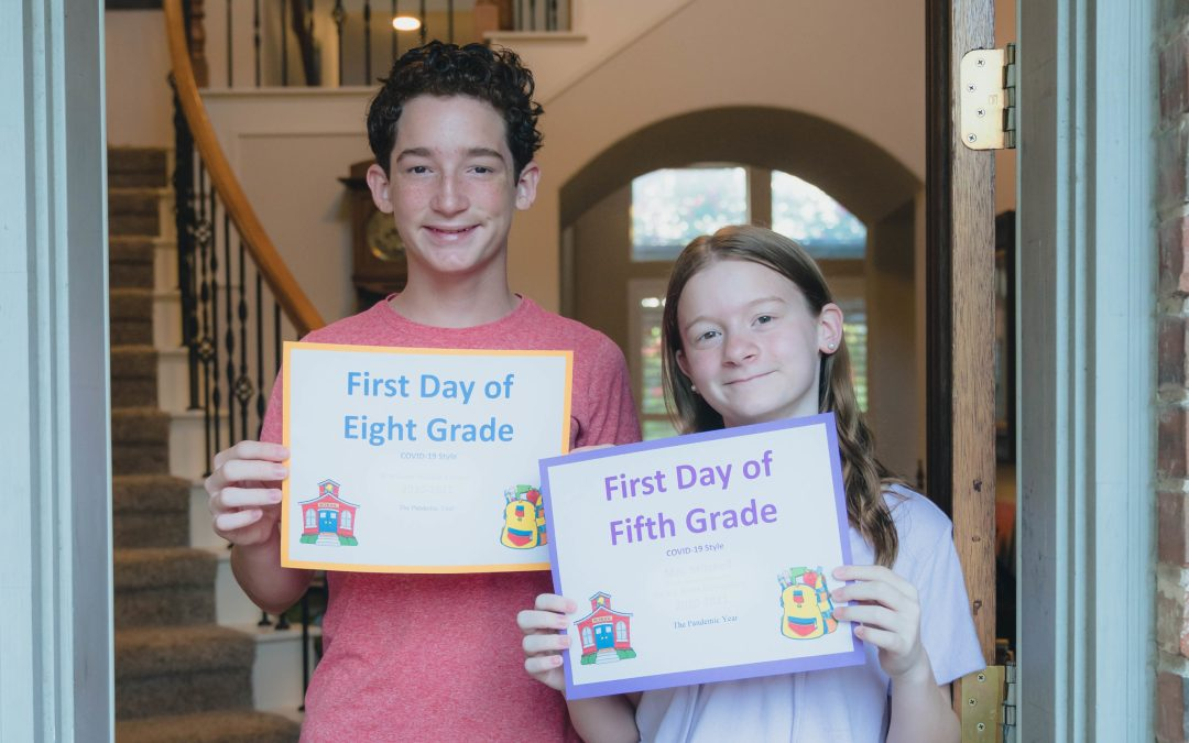 The Dreaded First Day of School Pictures