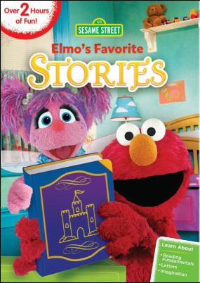 Sesame Street: Elmo's Favorite Stories on #DVD and #digital July 5th #SesameStreet #Elmo #WBHE
