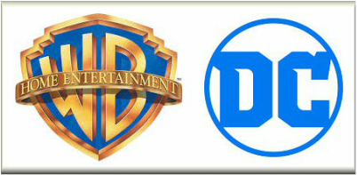Warner Brothers Home Entertainment and DC Entertainment Logos #WBHE #DC