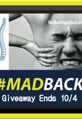 Holistic Pain Relief - MadBack How To Stop The Hurting AndReclaim Your Life BOOK REVIEW +3 Winners! Giveaway ends 10/4