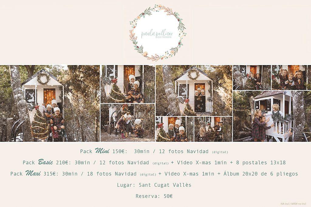 fotografia navidad niños casita arbol paula pellicer fotografia packs