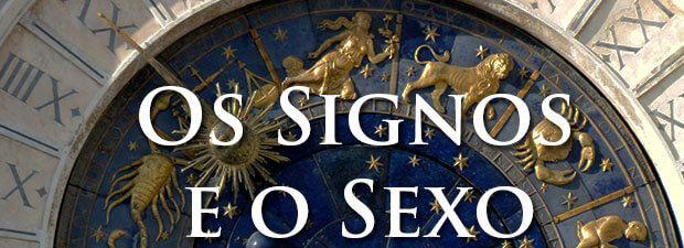 os signos e o sexo