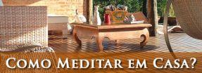 como meditar em casa