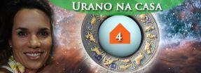 urano na casa 4