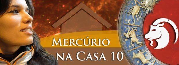Mercúrio na Casa 10