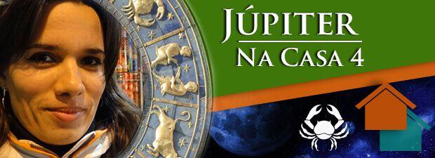 Júpiter na Casa 4