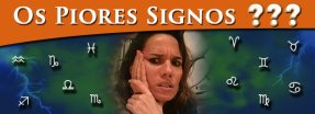 Piores signos