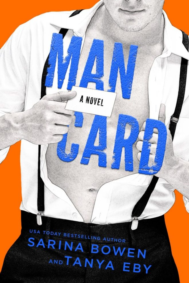 Front Cover of Man Card by Sarina Bowen