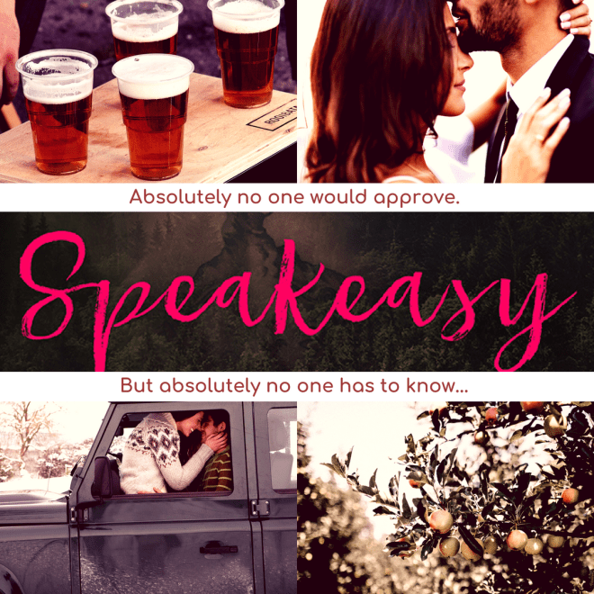Promo banner for Speakeasy by Sarina Bowen