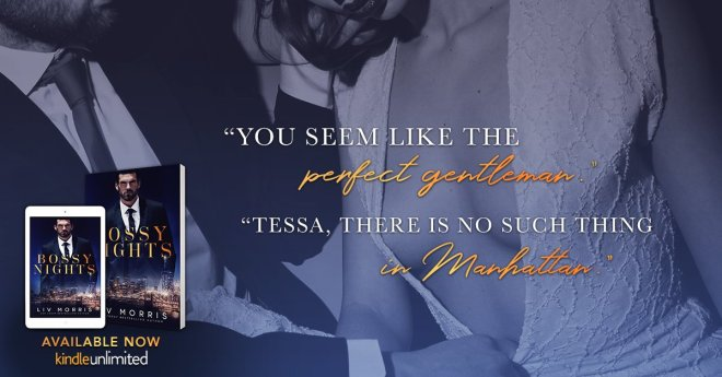 Photo teaser and quote for Bossy Nights
