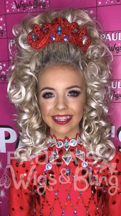 Rhianna Irish Dancing Wig