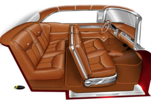 custom show car interiors. Black Bedroom Furniture Sets. Home Design Ideas
