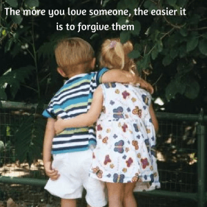 The more you love someone