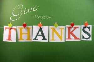 give thanks message