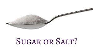 Sugar or Salt-