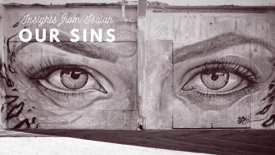 Our Sins Title Graphic