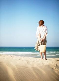Seaside pondering