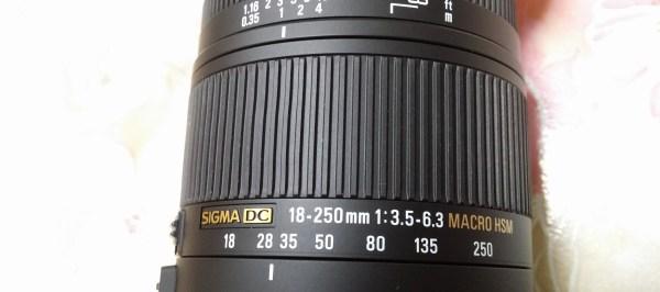 SIGMA 18-250mm/3.5-6.3 DC MACRO OS HSM