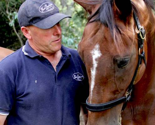 Image of Paul Buckland with his horse
