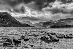 Looking Down Ullswater