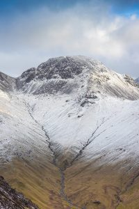 Snow on Great Gable