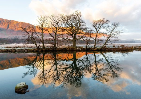 Winter Reflections on River Derwent