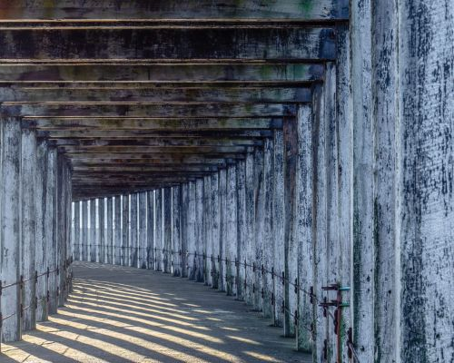 Under West Pier Whitby