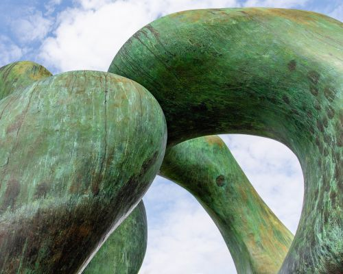 Henry Moore Two Large Forms
