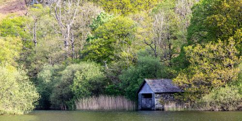 Boat house on Rydal Water
