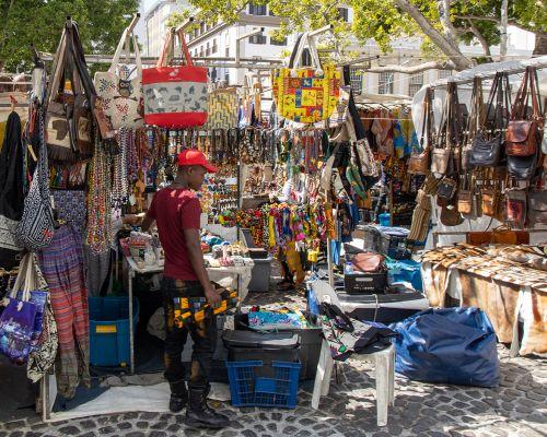 Colourful Street Market