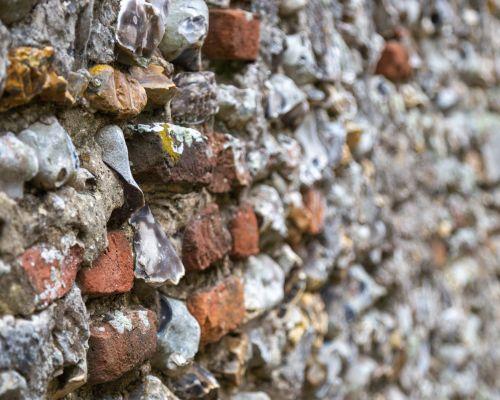 Pebbled Wall