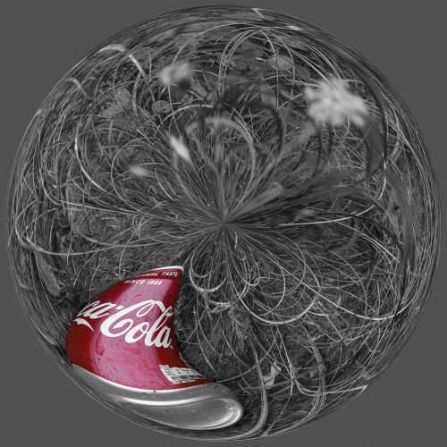 Coke can PSM003