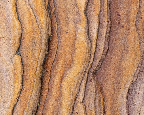 Layers of rock