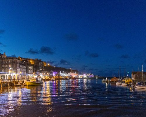 Whitby by nught