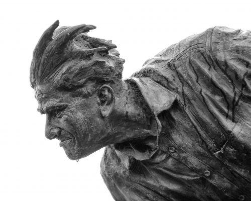 Sir Freddie Truman statue, Skipton