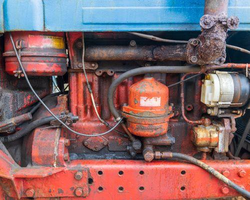 1979 Belarus Tractor engine