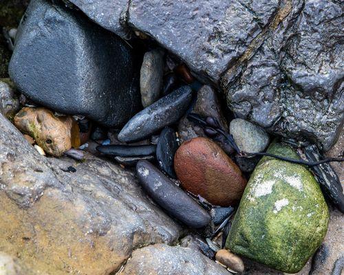 In the rocks