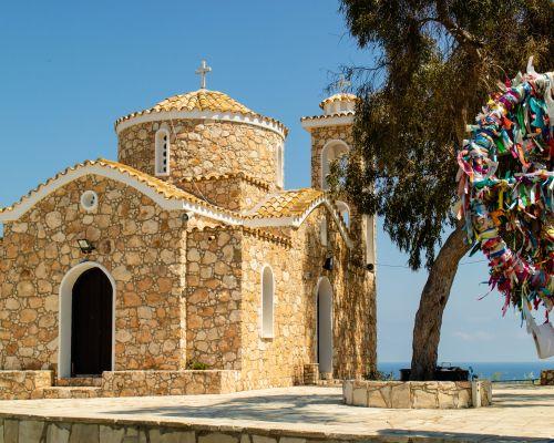 Chapel, Protaras, Cyprus