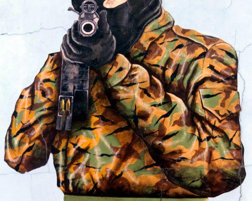 UFF Mural, Belfast