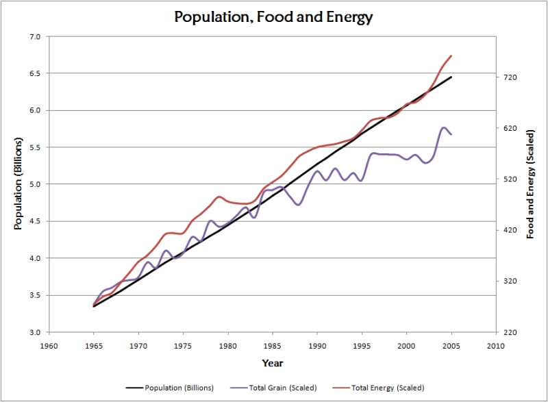 Risultati immagini per population consumption