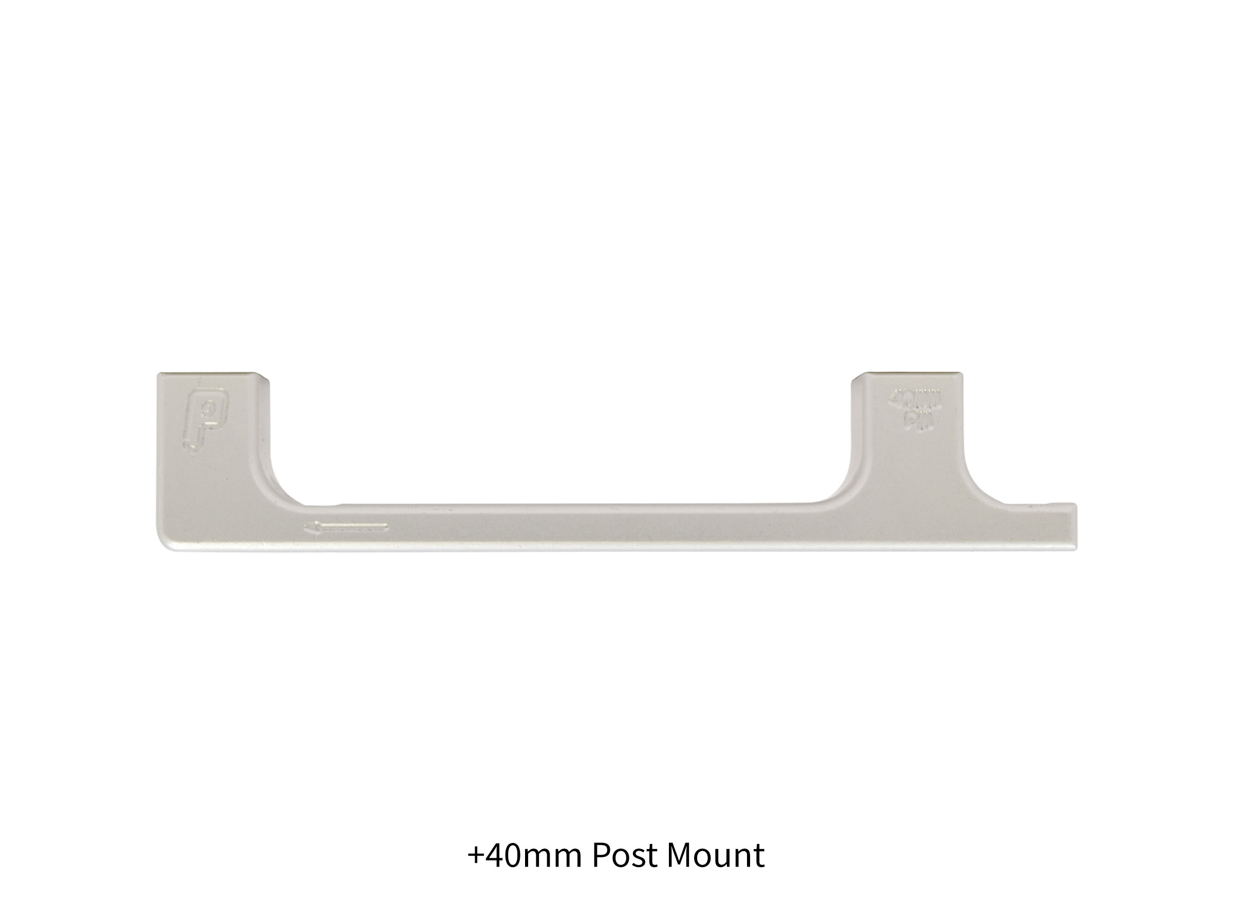 Paul Component Engineering 40mm Post Mount Disc Caliper Adaptor Silver