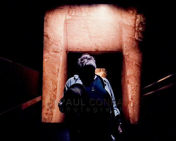 © Paul Conrad/Pablo Conrad Photography - Dad at the King Tut exhibit at the Pacific Science Center in Seattle, Wash.