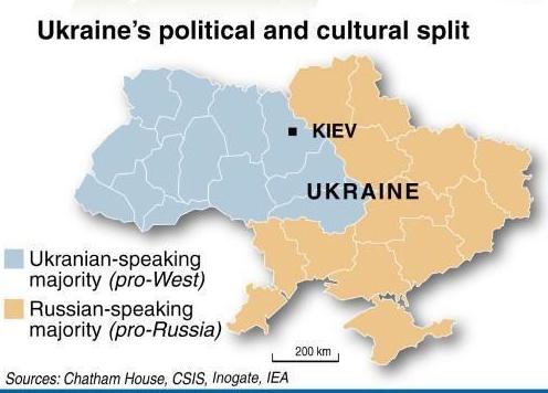 Kiev Ukrain Map