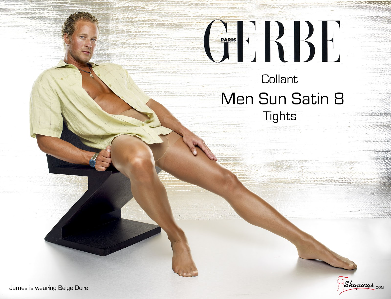 Men wearing ladies pantyhose from ga
